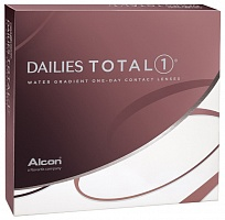 Контактные линзы Dailies Dailies (Alcon) Total 1 (90 линз)